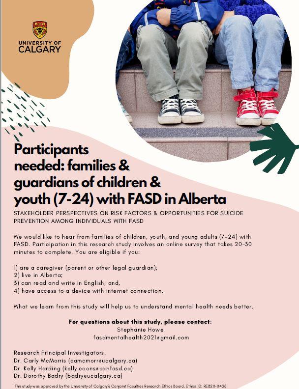 FASD Mental Health Poster